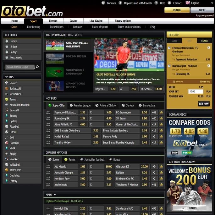Otobet Screen