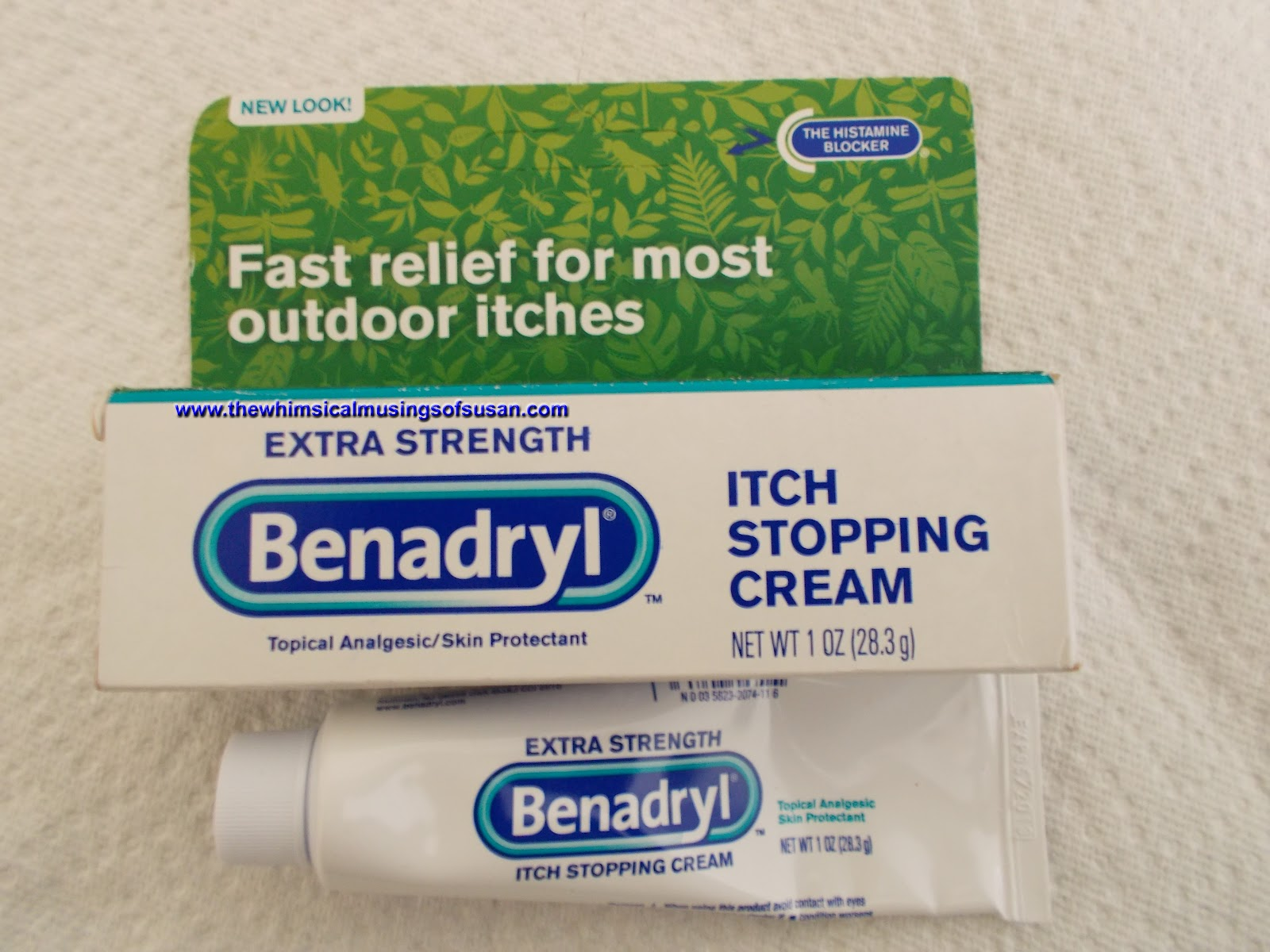 The Whimsical Musings of Susan: Extra Strength Benadryl Itch
