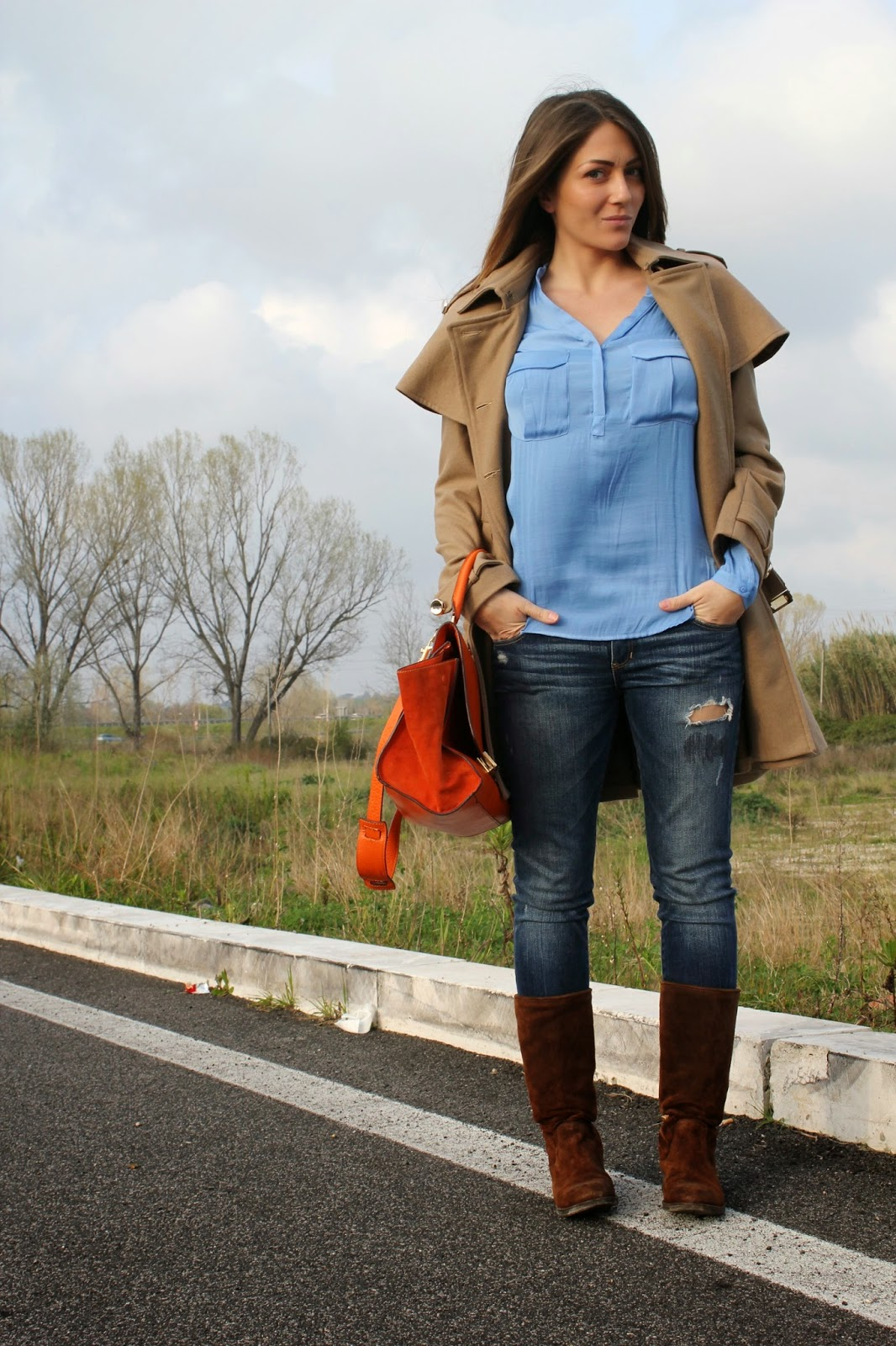 huge discount 279cd 2860e Casual look: trench, camicia e jeans - The Shabby Labels ...