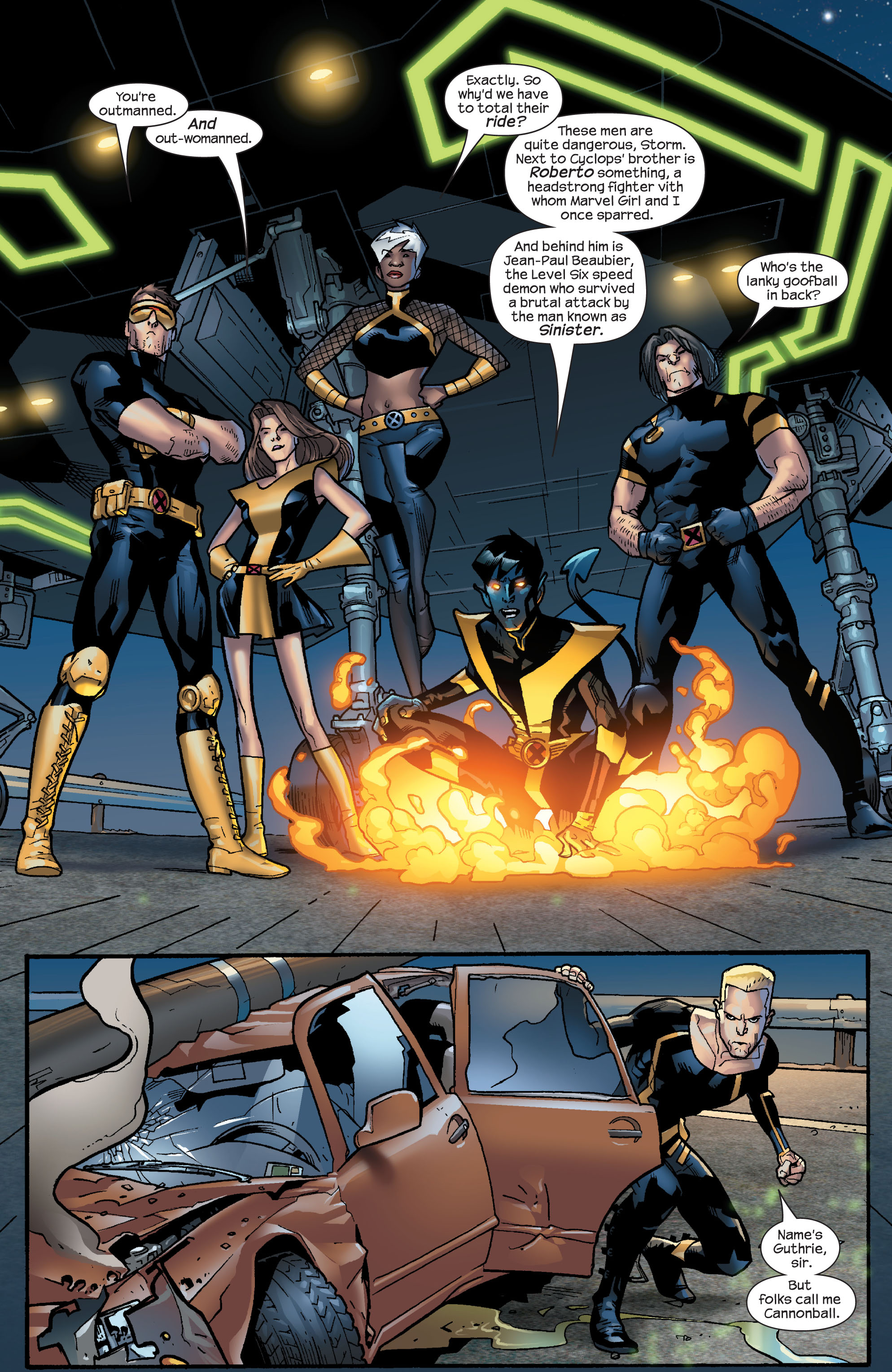 Read online Ultimate X-Men comic -  Issue #63 - 12