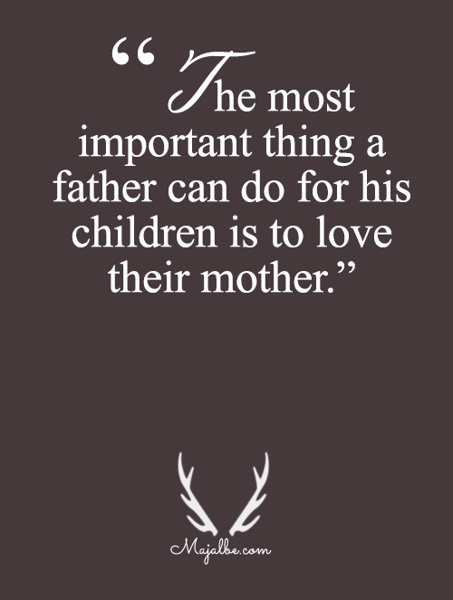 Father Loves Mother