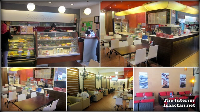Secret Recipe TTDI interior