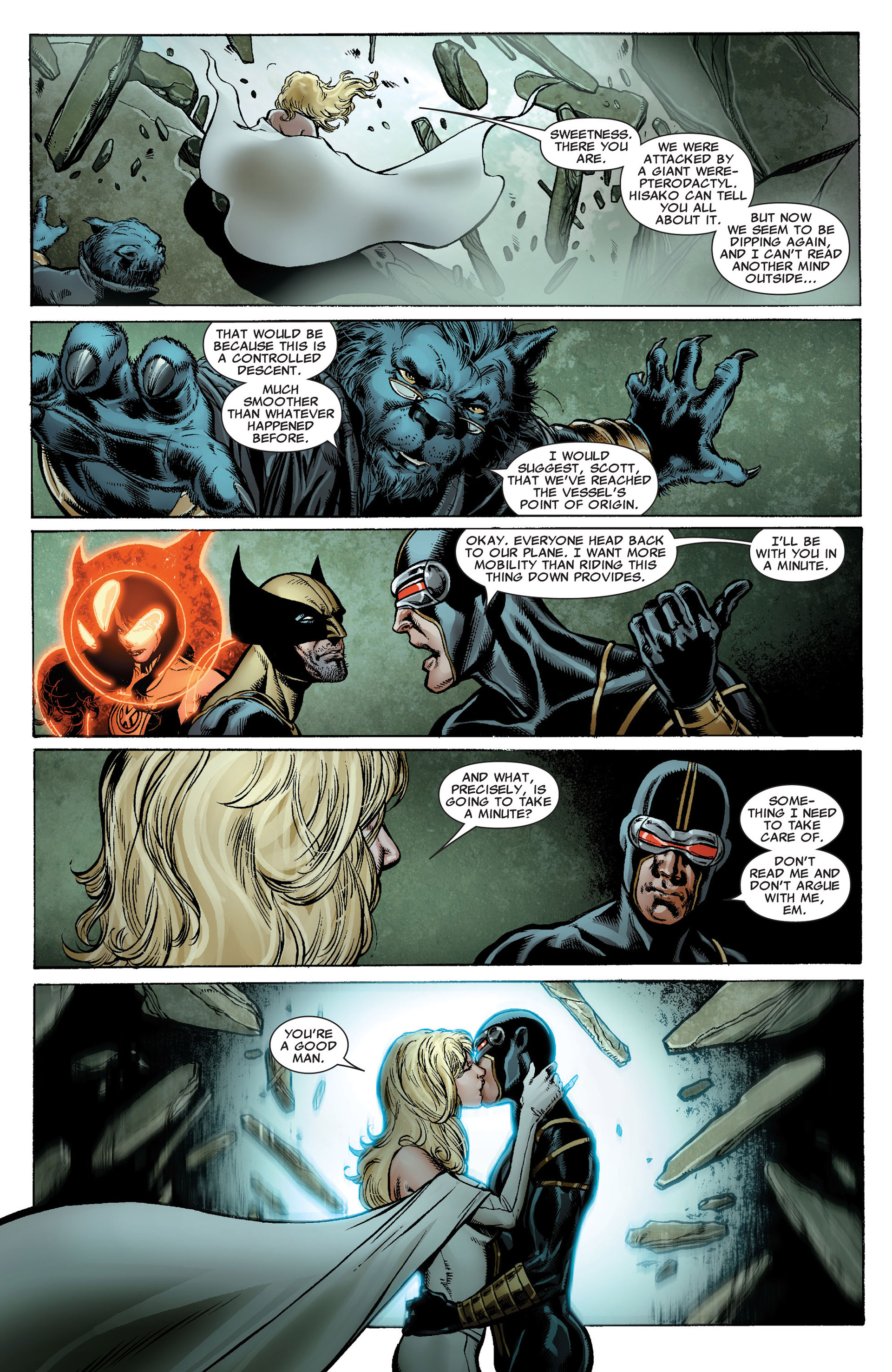 Read online Astonishing X-Men (2004) comic -  Issue #34 - 16