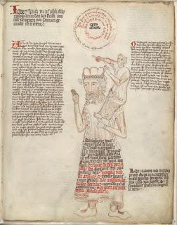 Manuscrit allemand, vers 1410