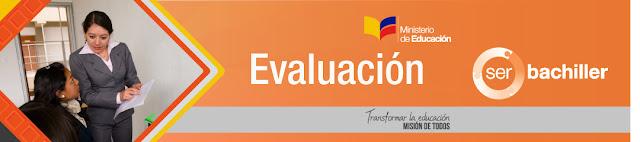 Notas examen ser bachiller Ineval Ministerio de Educación Ecuador