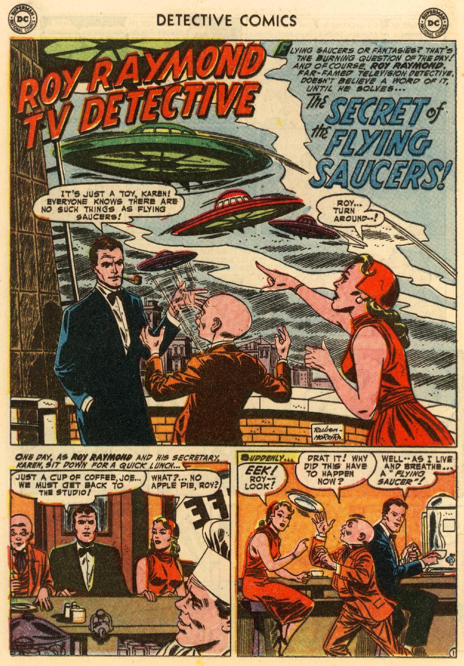 Read online Detective Comics (1937) comic -  Issue #207 - 14