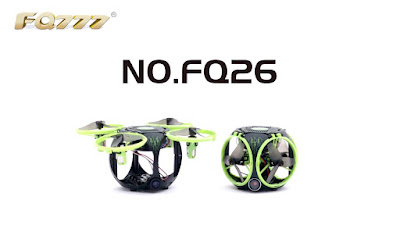 Spesifikasi Drone FQ777 FQ26 - OmahDrones