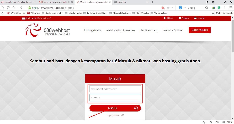 Cara Upload Website Ke Hosting Gratis 000webhost Asukhakom