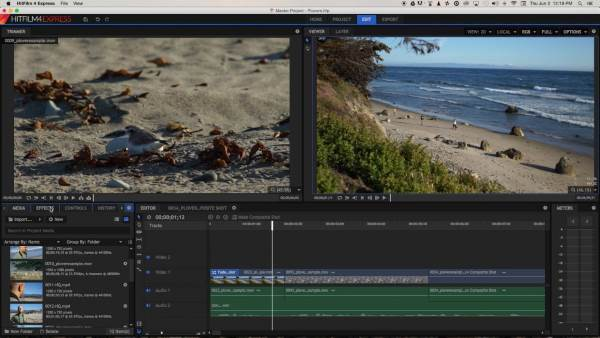 HitFilm Express - 11 Software Video Editor Terbaik Untuk Windows