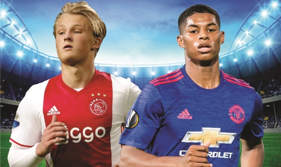 Ajax Amsterdam and Manchester United lock horns in the final of the UEFA Europa League.