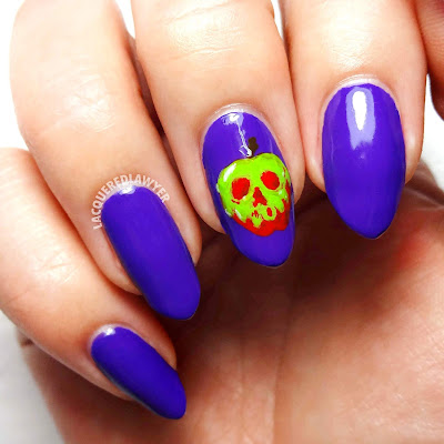 Poison Apple Nails