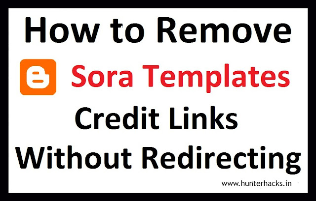 How To Remove Sora Templates Attribution Credit Without Redirecting