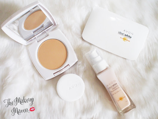THE MAKEUP MAVEN - A BEAUTY BLOG BY SABS HERNANDEZ: Avon's NEW Ideal White Makeup Line is just IDEAL!