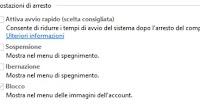 Come attivare o disattivare Avvio Rapido in Windows 10
