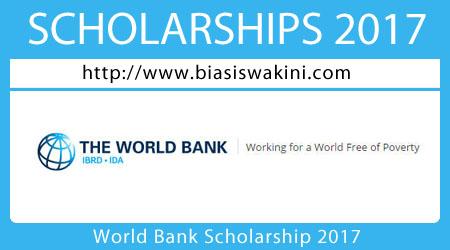 World Bank Scholarship 2017