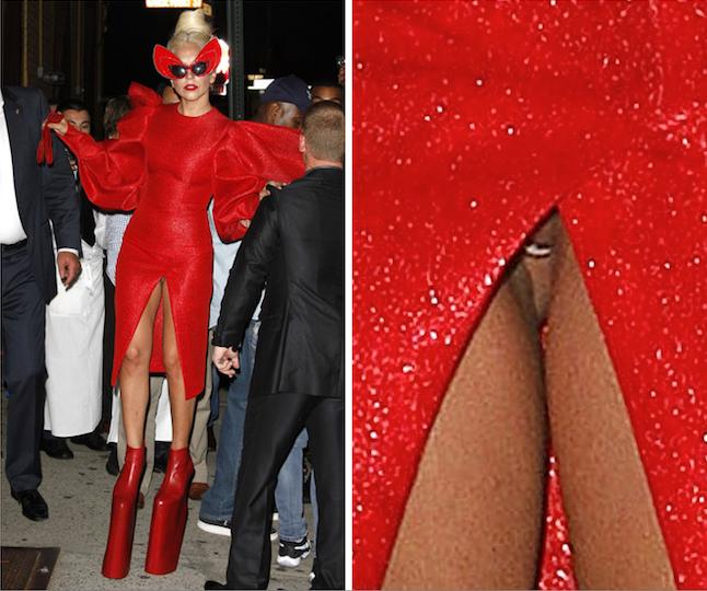 Lady Gaga S Pussy 22