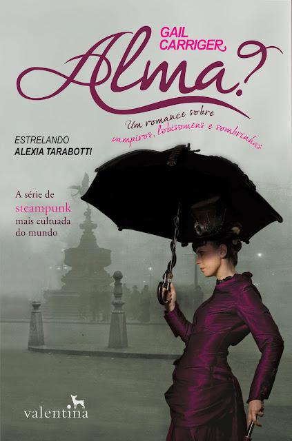 News: Capa do livro Alma, de Gail Carrige 6