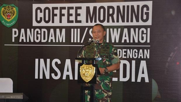Pangdam III/Siliwangi: Tingkatkan Sinergisitas Antara TNI dan Media