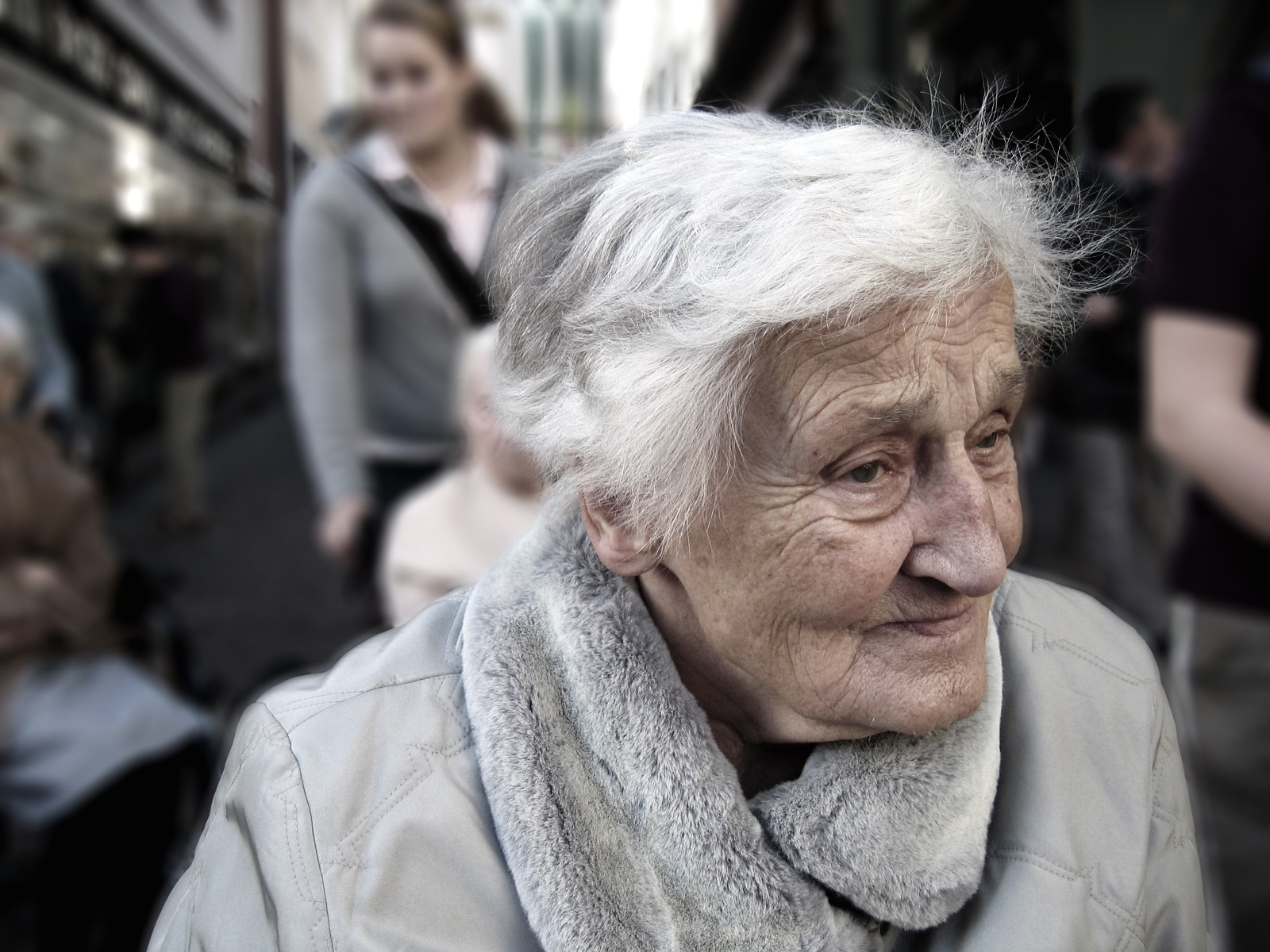 Elderly lady - costs of elder care - motherdistracted.co.uk