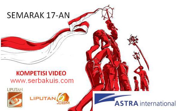 Kontes Video Semarak 17-an Berhadiah Puluhan Juta Rupiah