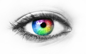 المرأة التي التي ترى العالم بألوان مختلف