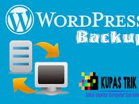 Cara Backup Wordpress di cPanel Secara Manual Terlengkap + Gambar