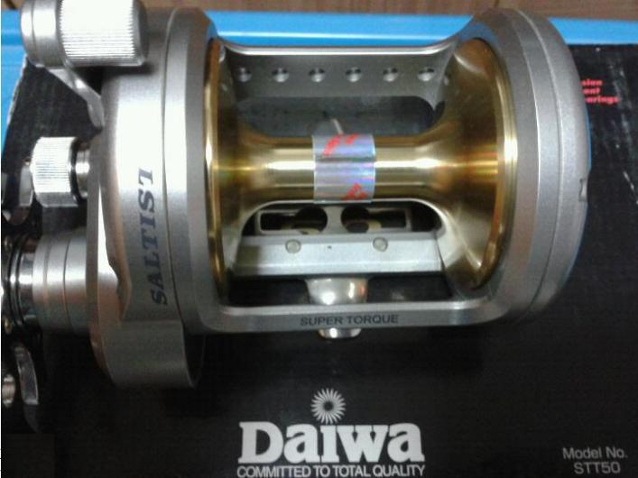 8a51b9c5bac After my Daiwa Saltiga Z40 was sold off, this Daiwa Saltist 50H which i  have kept for 1.5 years without using it finally found a new home as well.