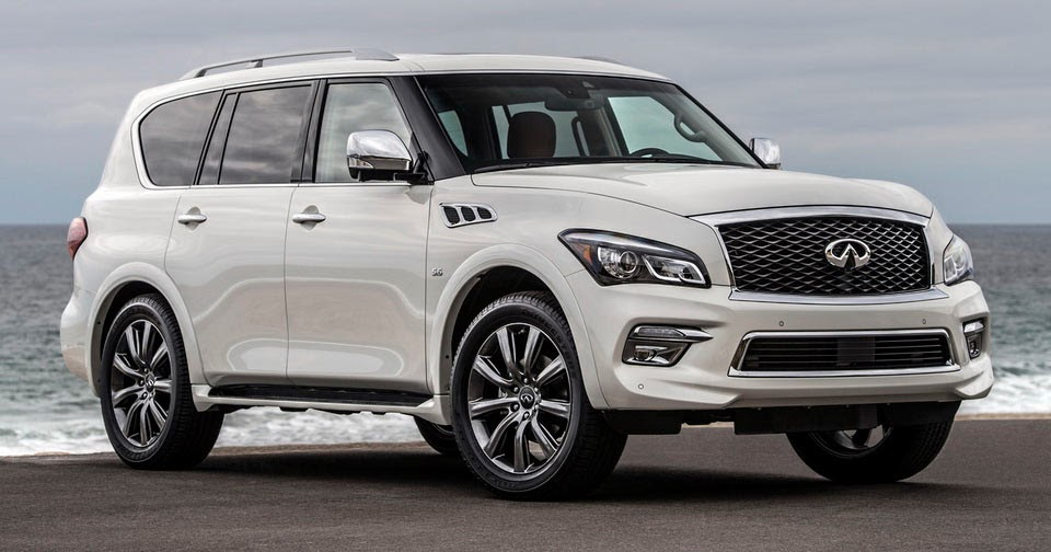 Infiniti Qx80 Signature Edition Comes Full Of Toys Starts