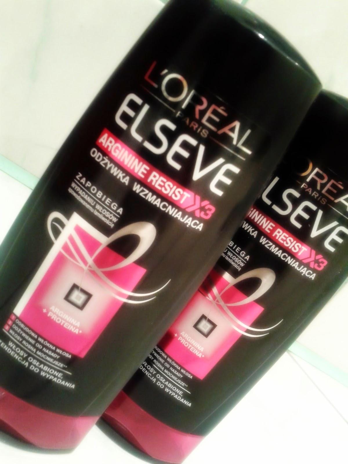 L`Oreal, Elseve odżywka wzmacniająca do włosów osłabionych