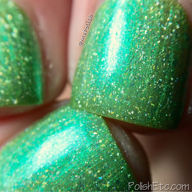 KBShimmer - Summer Vacation Collection - McPolish - Kiwi Real
