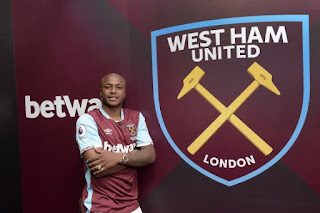 Andre Ayew, West Ham United