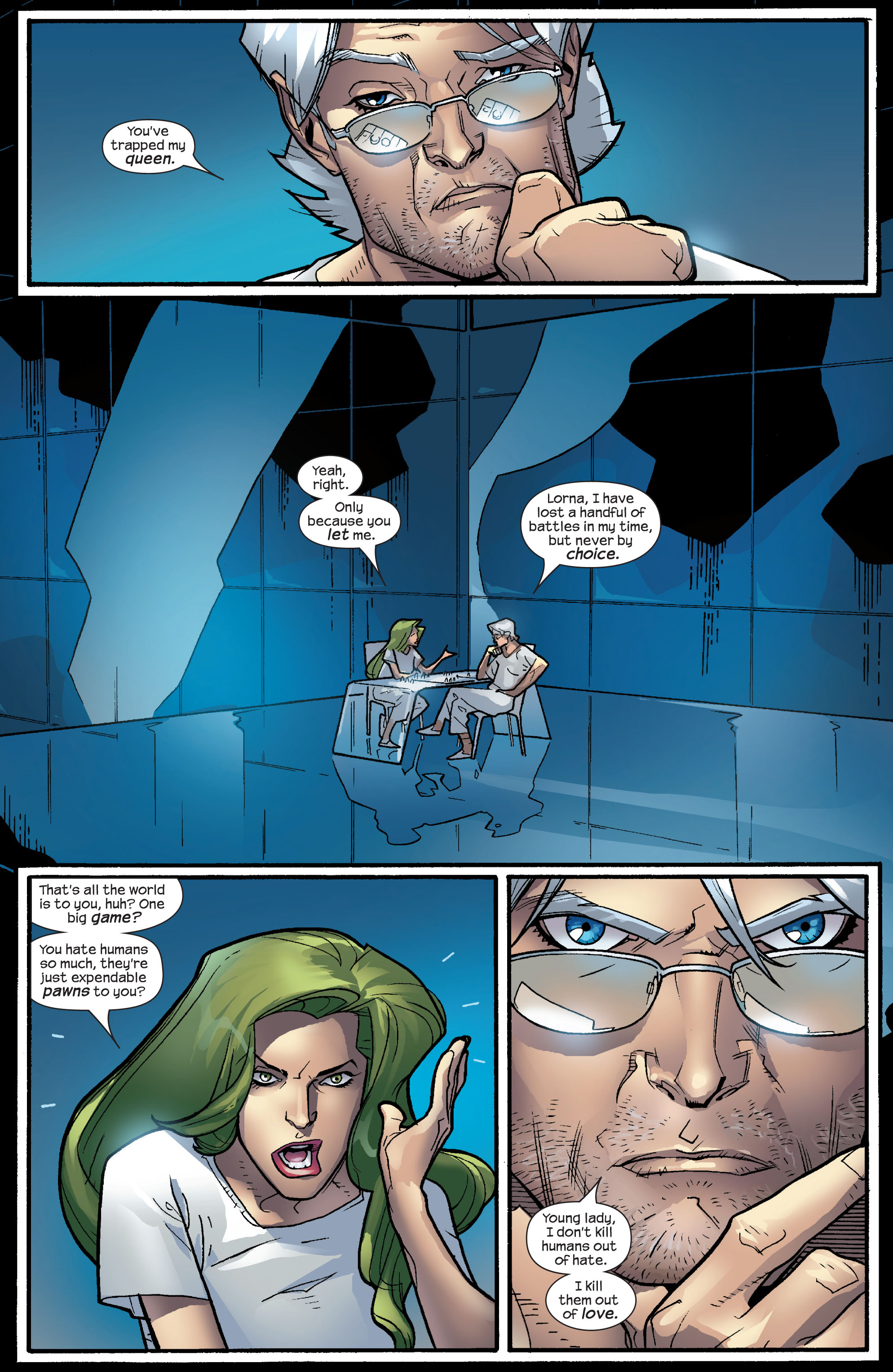 Read online Ultimate X-Men comic -  Issue #63 - 8