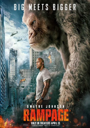 Rampage 2018 Full Hindi Movie Download Dual Audio HDRip 720p
