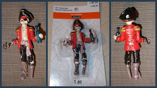 100mm Pirate Figurine; Ashland; Drinking Pirate; Halloween; Halloween Novelty Toy; Hook Hand; Peg Leg; Pirate Skeleton; Plastic Toy Figures; Resin Bear; Resin Pirate; Resin Skeleton; Resin Statuettes; Skeleton Pirate; Small Scale World; smallscaleworld.blogspot.com; Tiny Treasures;