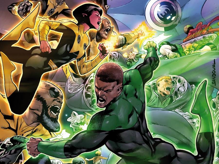 green lantern corps dc comics soranik natu rafa sandoval