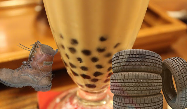 Fake Chinese Tapioca Pearls Are Made From Old Rubber Tires And Shoe Soles