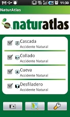 Blog Safari club, Atlas de naturaleza Android