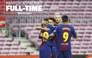 Barcelona Hajar Las Palmas 3-0
