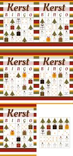 Kerstbingo - gratis download