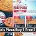 Domino's Pizza Buy 1 Free 1 促销!想吃就去买吧!