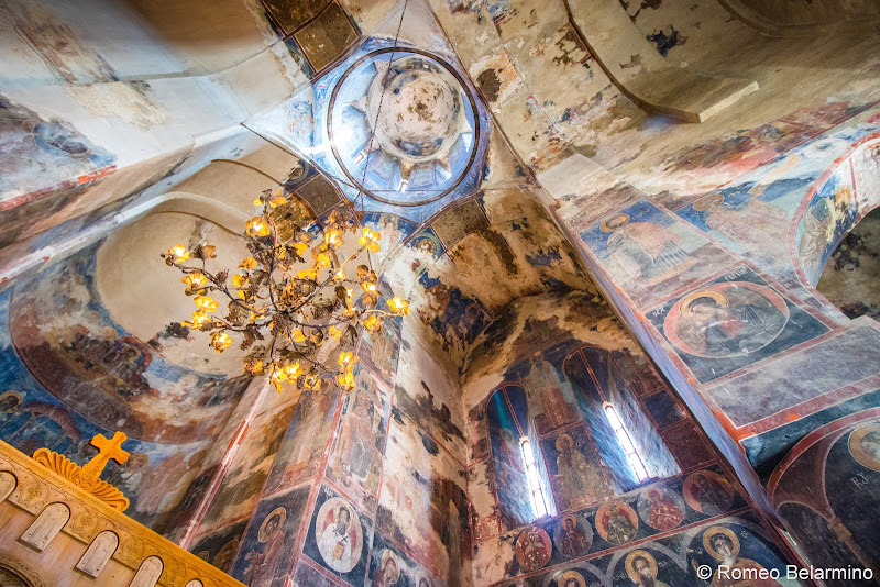 Gremi Church Frescoes Things to do in Kakheti Province Georgia