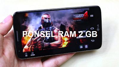 Harga HP Android RAM 2 GB Paling Berkualitas