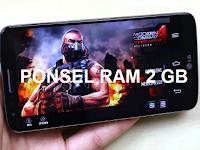 Daftar Harga HP Android RAM 2 GB Berkualitas Terbaru April 2017