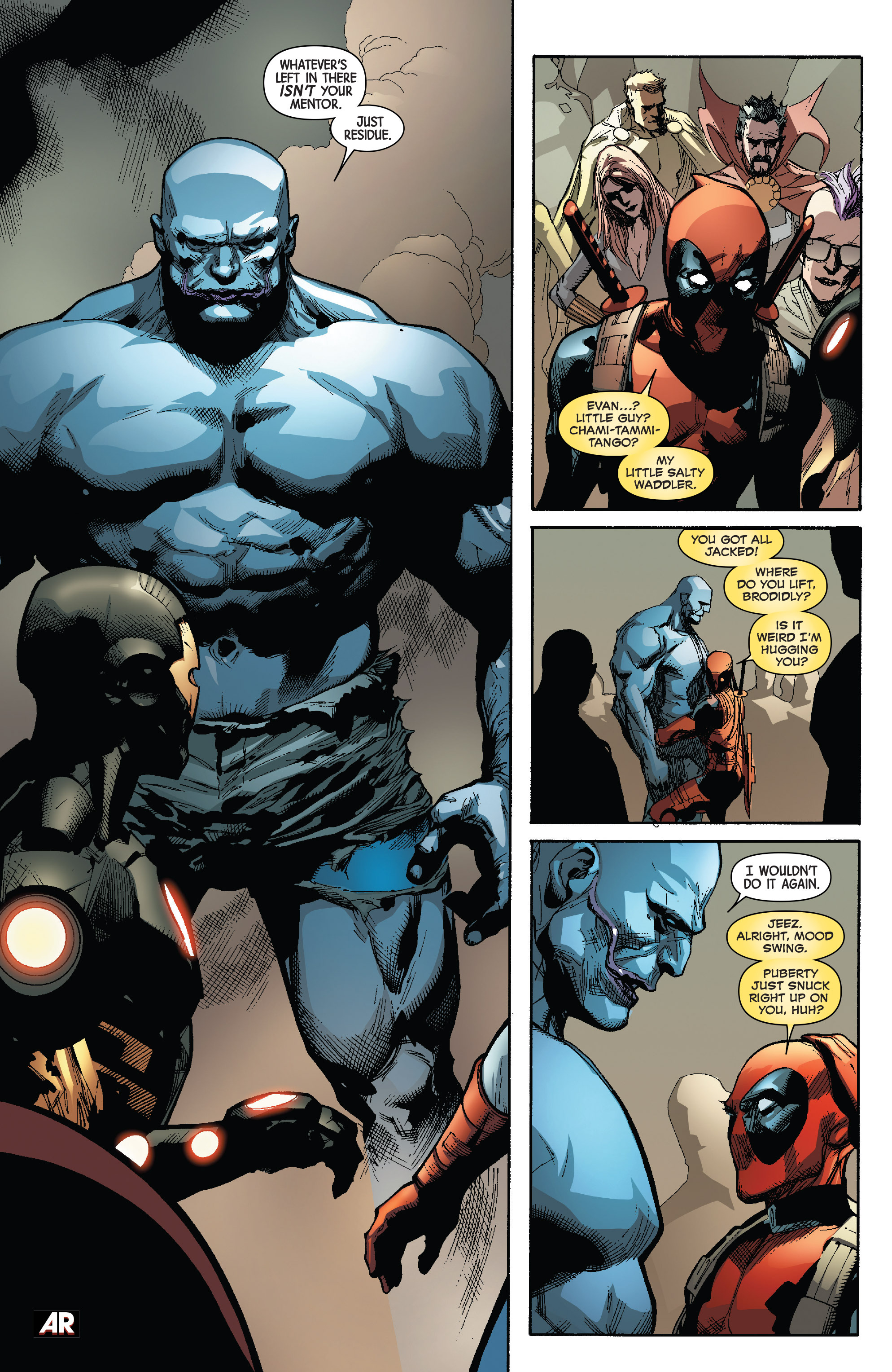 Read online Avengers & X-Men: AXIS comic -  Issue #3 - 24