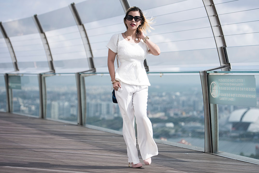 Crystal Phuong x Revolve Clothing: Dressing up in white