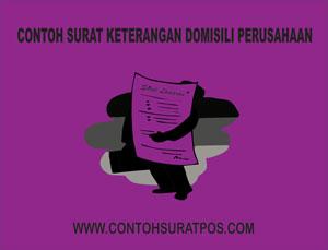Gambar untuk Contoh Surat Keterangan Domisili Perusahaan
