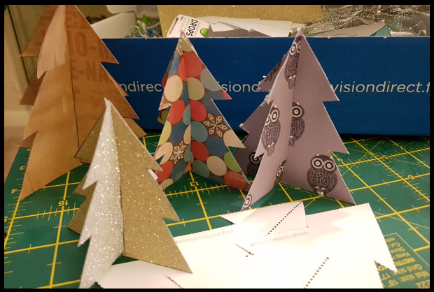 Get Christmas Tree template cut outs from Vision Direct