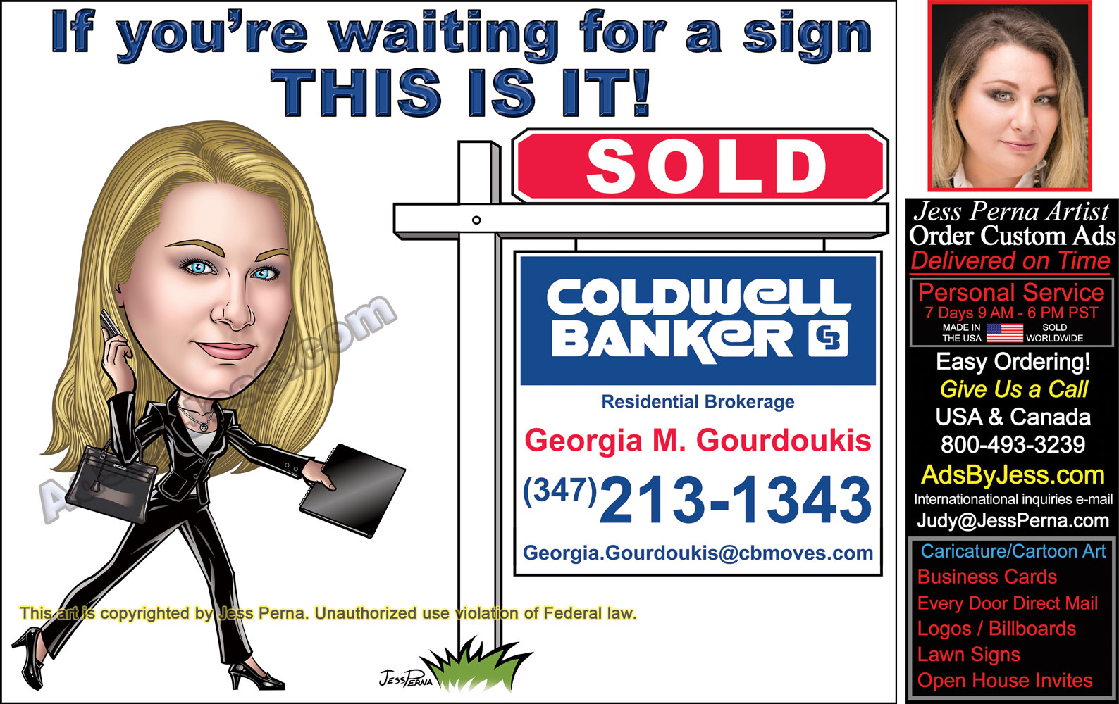 Find real estate business card signs website and post card coldwell banker eddm post card ad sign reheart Image collections