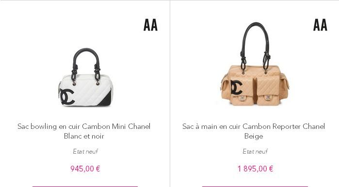 2132198d3704 VENTES PRIVEES SUR INTERNET  sacs Chanel d occasion