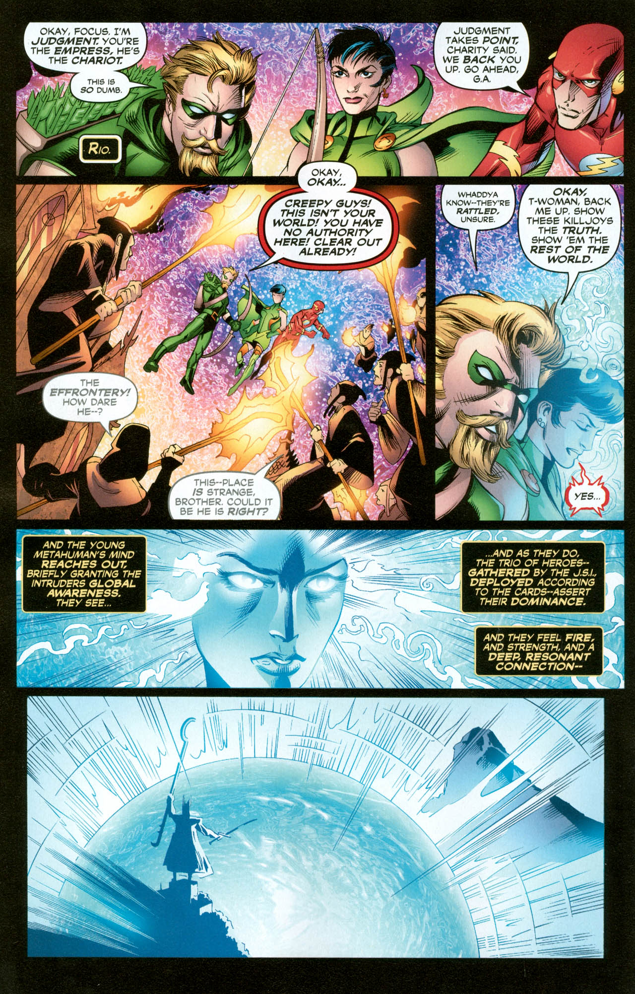 Read online Trinity (2008) comic -  Issue #31 - 15